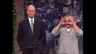 Jay Thomas on the Late Show with David Letterman #17 - December 23, 2004