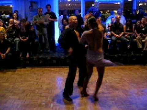 JUNIOR & EMILY ALABI - полуфинал в Stevens Steak House (2009)