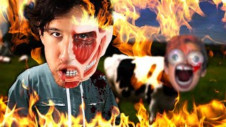 I'VE NEVER SCREWED UP THIS BAD IN MY ENTIRE LIFE | Farming Simulator 2019 by Markiplier
