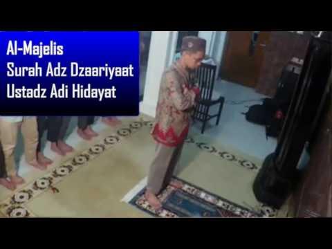 Video Ustadz Adi Hidayat Menjadi Imam Shalat Isya Berjamaah Surah Adz Dzaariyaat download in MP3, 3GP, MP4, WEBM, AVI, FLV January 2017