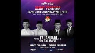 Video [Live RTV] Debat Pertama Capres dan Cawapres Pemilu 2019 MP3, 3GP, MP4, WEBM, AVI, FLV Januari 2019