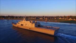 Port Huron (MI) United States  city photos : USS DETROIT - Downbound Port Huron, Michigan 10-14-2016