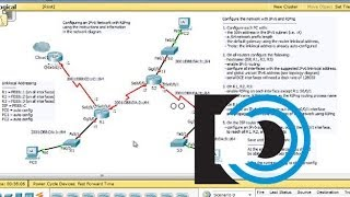 Configure IPv6 and RIPng in Packet Tracer - Part2