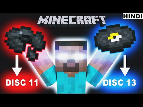 Disc 11 and 13 Story in Hindi - Minecraft   Minecraft Mysteries Episode 9   Disc 11 and 13 Explained