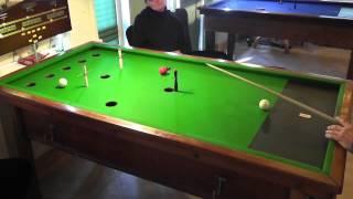 Roy Le Page & Terry Kenny vs. Mark Trafford & Ian Gordon Game Score: 5680 - 3270.