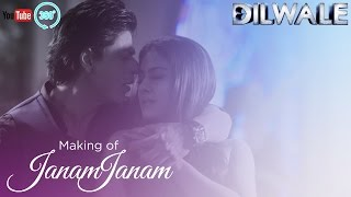 Janam Janam - Making of in 360 - Dilwale
