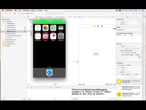 35- IOS APP development||  Load and take picture التقاط وتحميل الصور