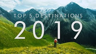 5 BEST Travel Destinations For 2019   UNILAD Adventure
