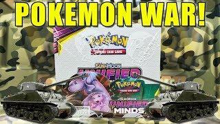 POKEMON UNIFIED MINDS BOOSTER BOX WAR!! Opening an Unified Minds Booster Box of Pokemon Cards by The Pokémon Evolutionaries