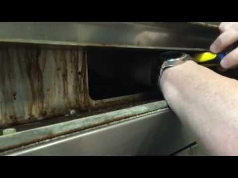 Vulcan oven flame sensor/igniter replacement