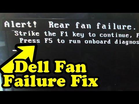 R3DLIN3S - Dell Fan Failure Fix/Bypass Fix fan failure on dell computer. Fan failure on dell computer Bypass fan failure on dell computer R3DLIN3S redlines red lines.
