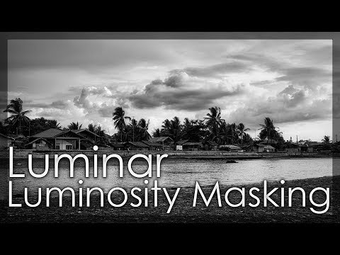 Using Luminosity Mask To Refine The Detail To Your Photos - Luminar 2018 Tutorial