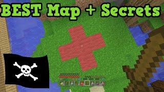 Minecraft Best BATTLE Map - COVE Pirate Secrets!