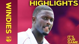 Windies Bowlers Dazzle England Again | Windies vs England 2nd Test Day 1 2019 - Highlights