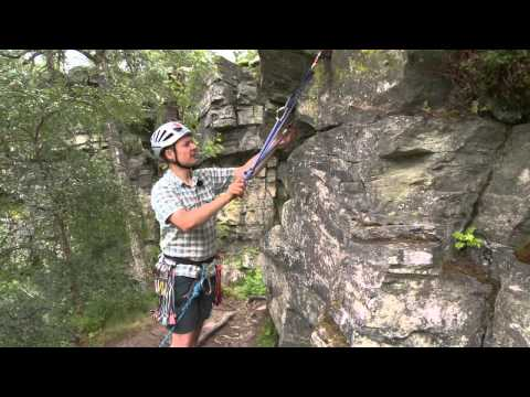 Rock Climbing – building a belay using slings