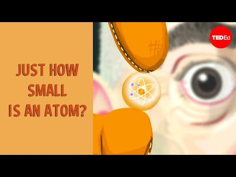 atom - View full lesson: http://ed.ted.com/lessons/just-how-small-is-an-atom Just how small are atoms? And what's inside them? The answers turn out to be astounding...