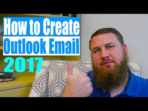 How to create a Outlook/Hotmail email account in 2017