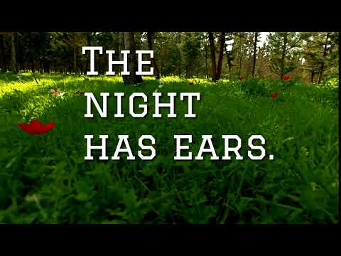 Quote of the Day!  The Nigh Has Ears...