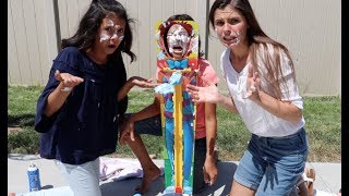 Today we had a special guest Nadia Khristean! We got so messy with the sky high pie face challenge! SUBSCRIBE HERE: ...