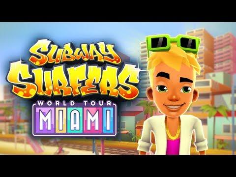 Subway Surfers World Tour 2017 - Miami - Official Trailer (видео)