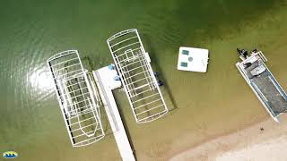 8. In Tune Marine: Shore Station Boat Lifts