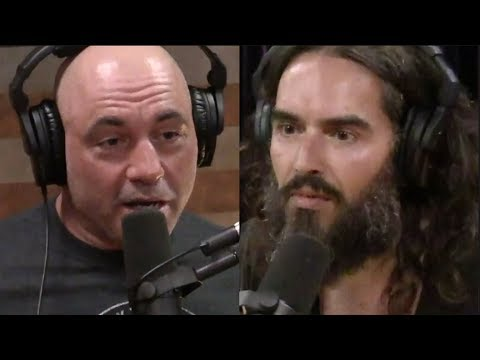 Joe Rogan | Why We Respond More To Negativity Online W/russell Brand