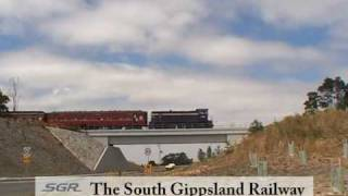 Korumburra Australia  City new picture : South Gippsland Railway TV Ad. Korumburra, Victoria Australia