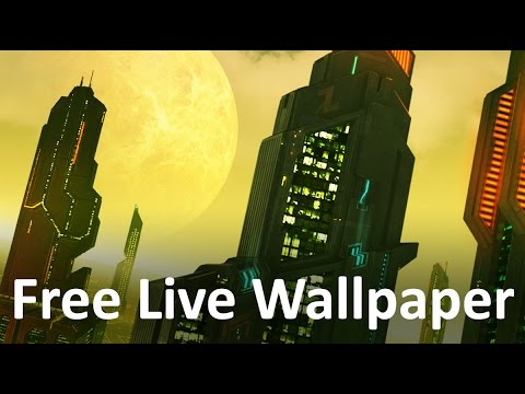 Video of Space City Colony 3D  LWP