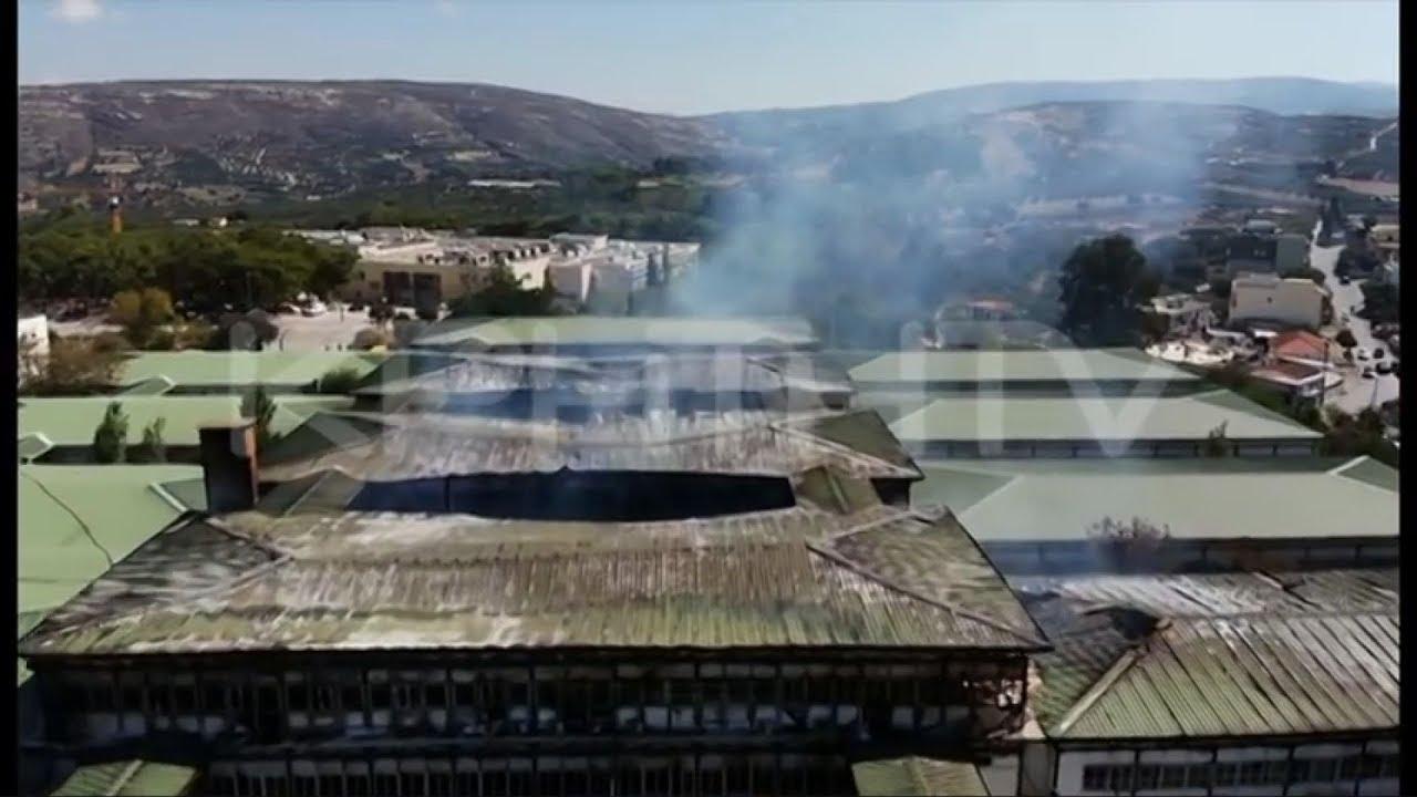 Η μεγάλη καταστροφή στο Πανεπιστήμιο Κρήτης, μέσω Drone