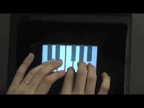 virtual - Full story: http://www.newscientist.com/article/dn26463 HaptoMime uses reflective surfaces to create a floating virtual screen that you can actually feel.