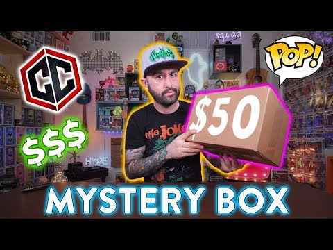 Winning $50 Funko Pop Mystery Box Unboxing!