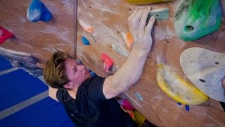 Nikken Is Fighting A New V11, Round 1! Bouldering At His Limit! by Eric Karlsson Bouldering