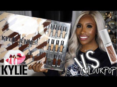 Kylie Concealers vs Colourpop?   Jackie Aina