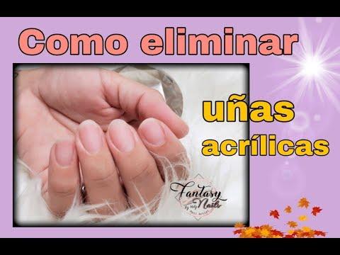 Uñas acrilicas - Como elimino correctamente uñas acrílicas