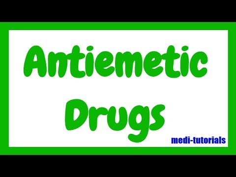 Antiemetic Drugs | Medi Tutorials