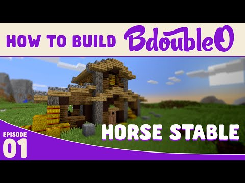 how to - How to build a horse stable in minecraft in just a few simple steps. Remember to leave some love if you enjoyed or learned something :) MY LINKS: -----------------------------------------------...