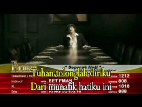 Firman _ Separuh Hati With Lyric