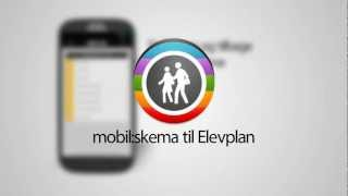 mobil:skema til Elevplan.dk YouTube video