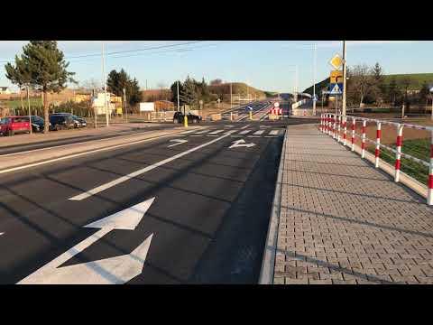 Wideo1: Przebudowane skrzyżowanie w Gostyniu