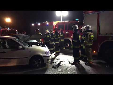 Wideo1: Wypadek na K12 Gostyń - Kosowo