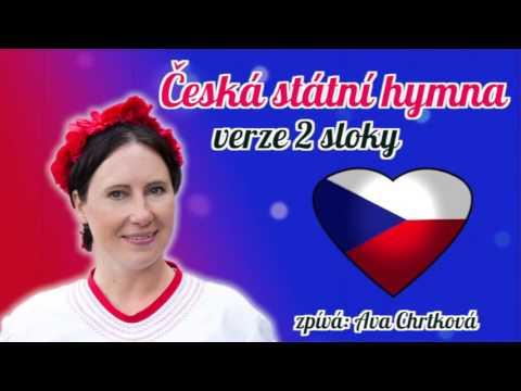 Česká státní hymna 2 sloky zpívá Ava Chrtková