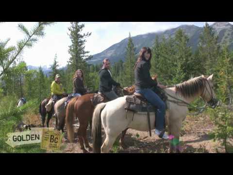 Horseback Riding in Golden, BC Canada