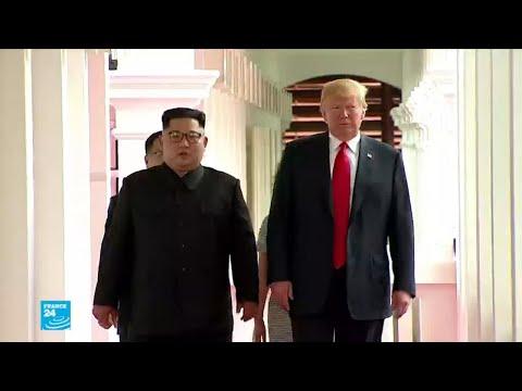العرب اليوم - شاهد: الولايات المتحدة تتمسك بنزع بيونغ يانغ سلاحها النووي بشكل كامل
