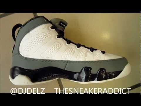 Air Jordan Imperial Purple 9 GS Sneaker Review With @DjDelz