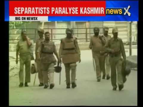 Kashmir shutdown continues