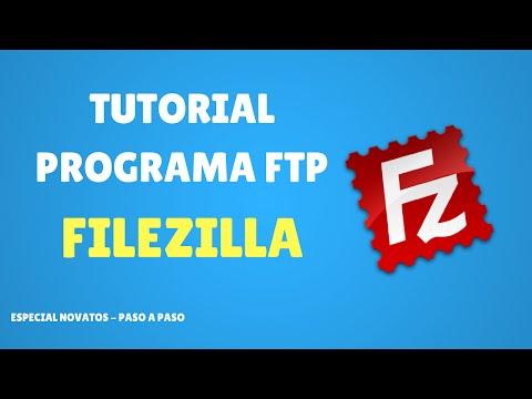 Tutorial Programa FTP Filezilla Client - Novatos