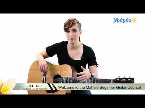Learn Guitar: Welcome to the Mahalo Beginner Guitar Course