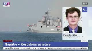 Pavel Havlíček: Kerčská krize se dá vidět jako pokračující agrese Ruska