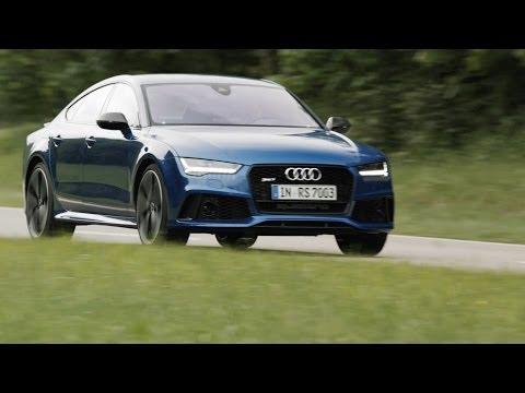 audi rs7 sportback - test drive