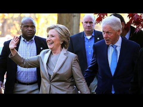 Το εκλογικό της δικαίωμα άσκησε η Χίλαρι Κλίντον